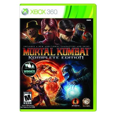 Mortal Kombat: Komplete Edition, Warner Bros, Xbox 360 for $<!---->