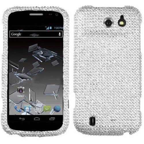 ZTE N9500 Flash MyBat Protector Case, Silver Diamante