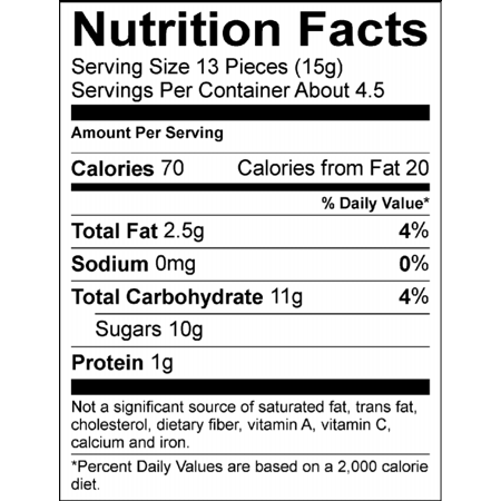 baked beans nutrition facts