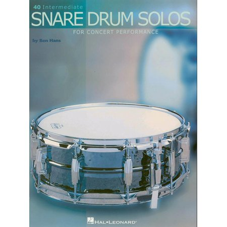 Snare Drum Solo Sheet Music - 40 Intermediate Snare Drum Solos (Music Instruction) - eBook