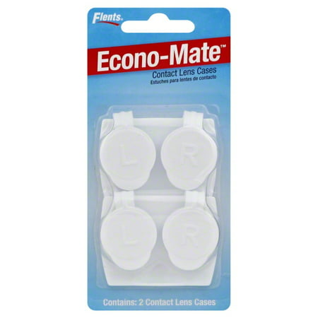 Apothecary Flents Econo-Mate Contact Lens Cases, 2 ea (Maleficent Contact Lenses)