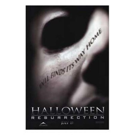 Posterazzi MOV220457 Halloween Resurrection Movie Poster - 11 x 17 in. - Halloween Ressurection