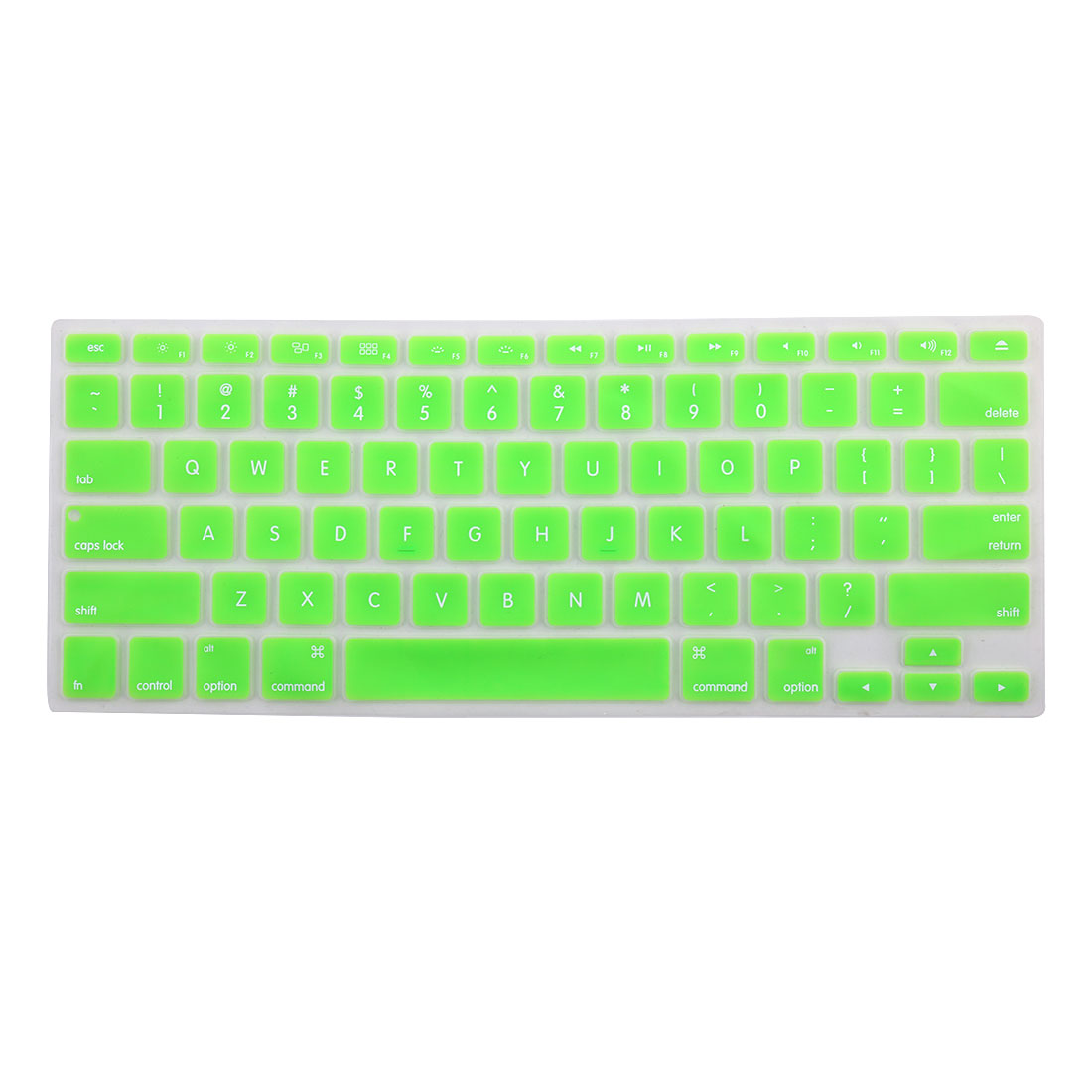 Laptop  bluethooth Silicone Keyboard Protector Cover Skin Green for iMac