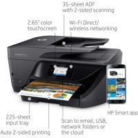 2020 HP OfficeJet Pro 6978 All-in-One Inkjet Color Wireless Printer with Mobile, Two-Sided Printing and Scan, Instant Ink Ready (T0F29A)