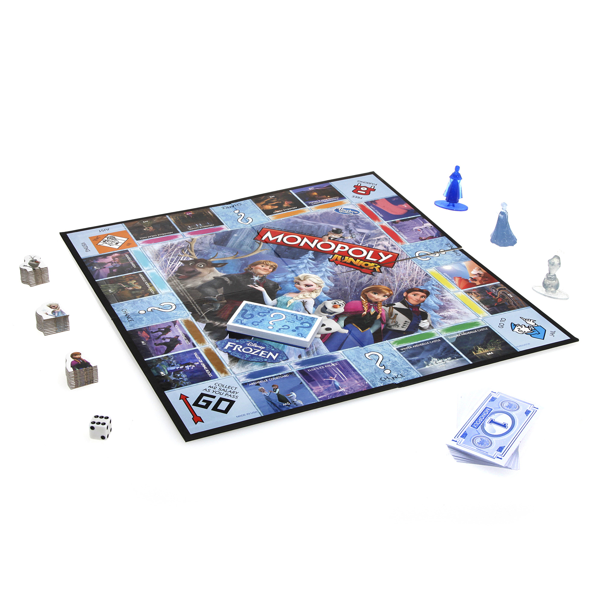 Hasbro Gaming Disney Frozen Monopoly Junior Walmart