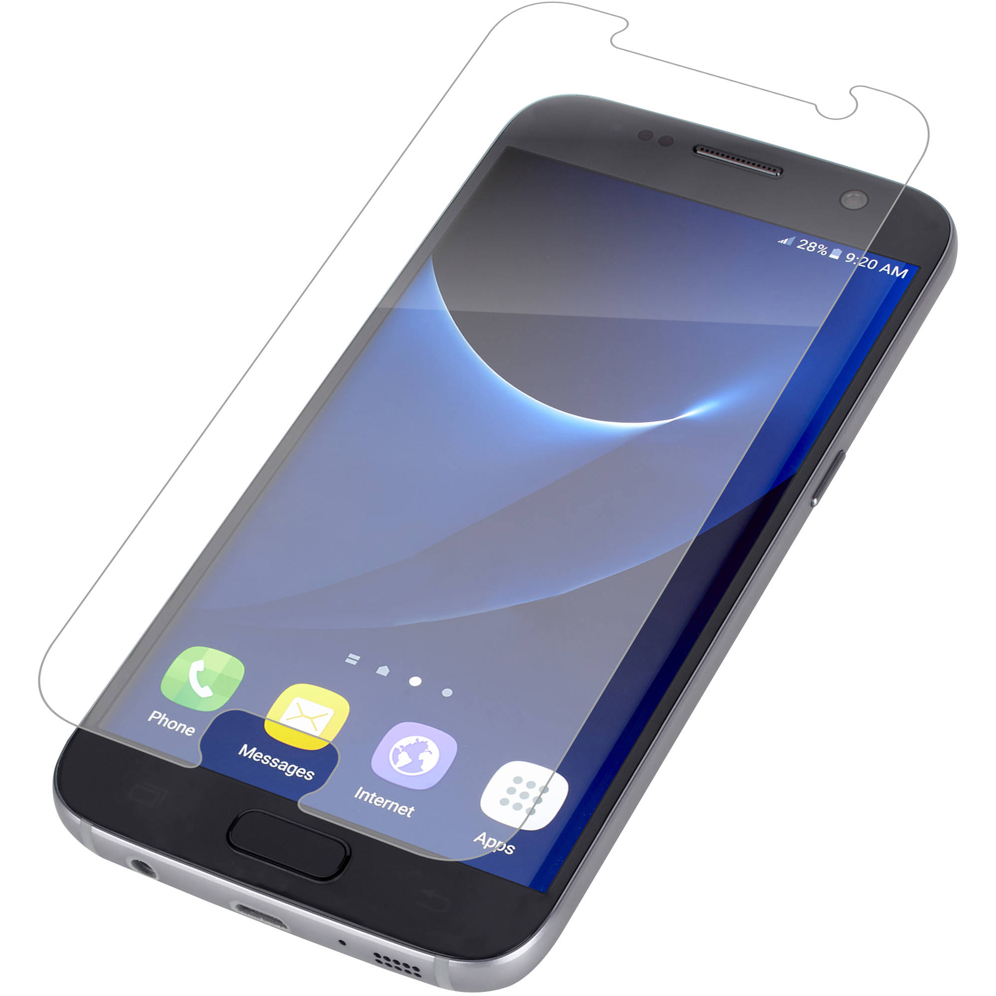 Zagg Invisibleshield Hd Dry Screen Protection For Samsung Galaxy S7