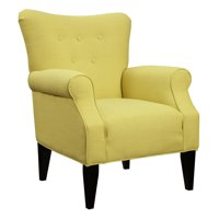 Emerald Home Lydia Accent Chair Citrine Sensu (Citrine)
