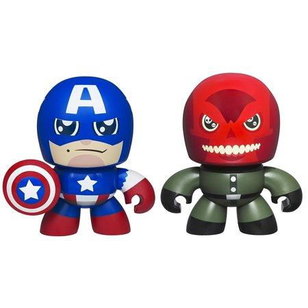 Marvel the Avengers Mini Muggs Captain America and Red Skull Figures, Tiny Captain America and Red Skull figures are just the right size for.., By Hasbro Ship from US - Captain Rex Armor For Sale
