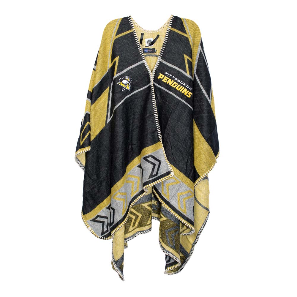 Pittsburgh Penguins Whipstitch Poncho by Little Earth