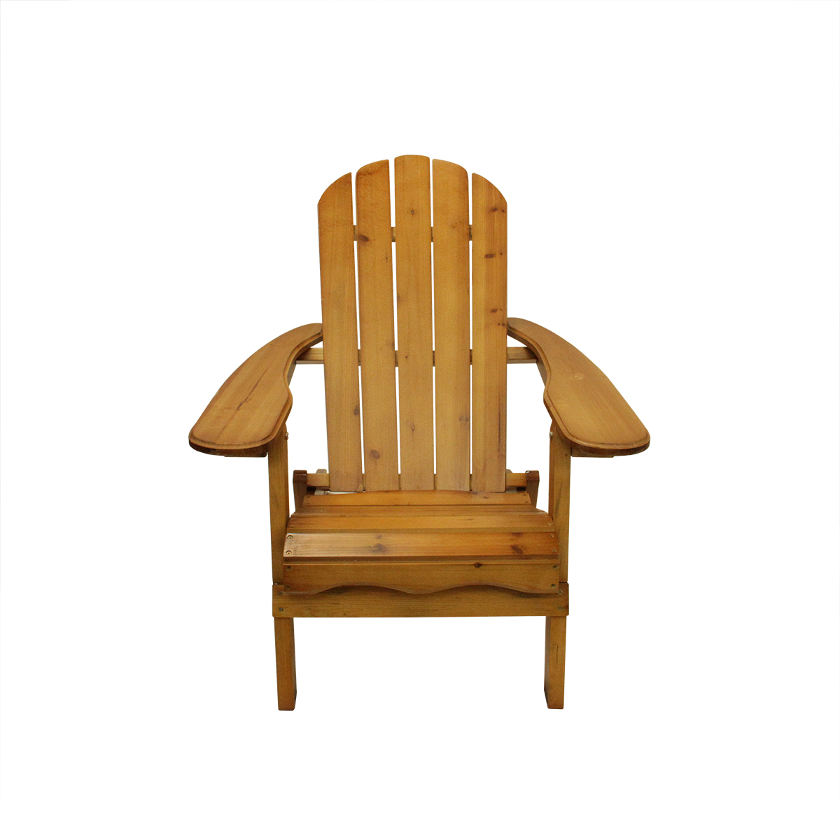 "40"" Brown Wooden Folding Outdoor Patio Adirondack Chair Walmart"
