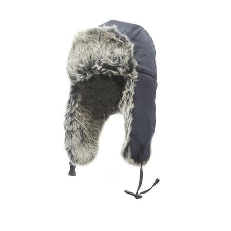 Heat Edge Mens Winter Warm Trapper Hat for men - Mets Winter Hat