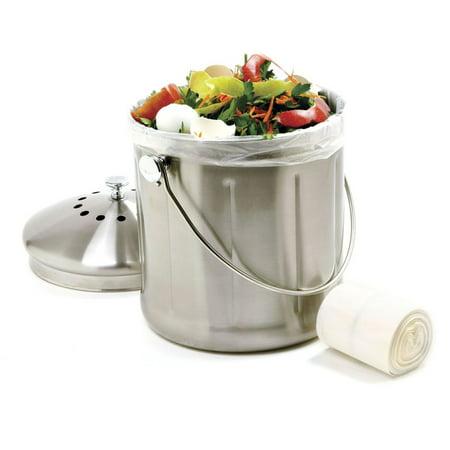 Norpro 85 Compost Bag, Degradable, 50-Pk.
