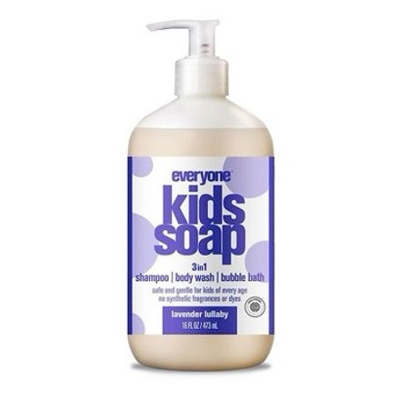 Everyone 3-in-1 Soap for Kids Lavender Lullaby 32 Oz