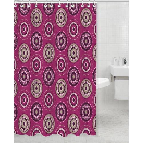 daniels bath tamil polyester shower curtain   walmart