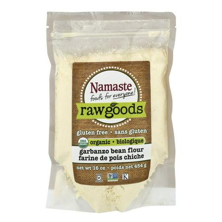 Namaste Foods Raw Goods Gluten Free Organic Garbanzo Bean ...  Garbanzo
