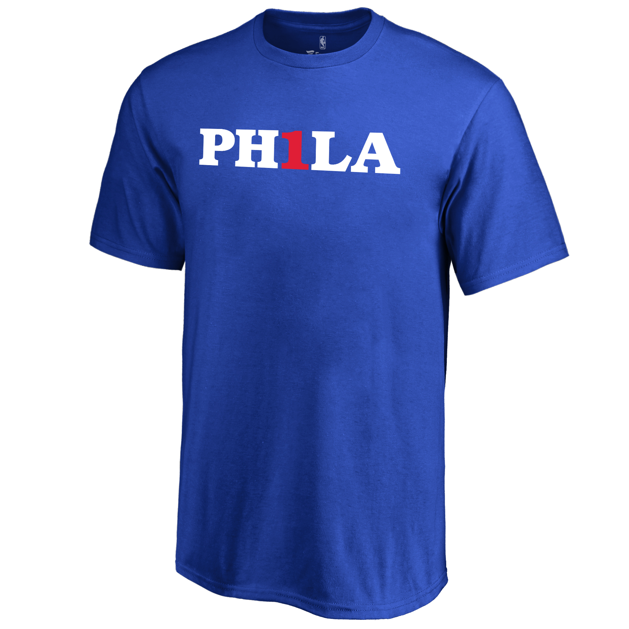Philadelphia 76ers Youth PH1LAFIRST T-Shirt - Royal