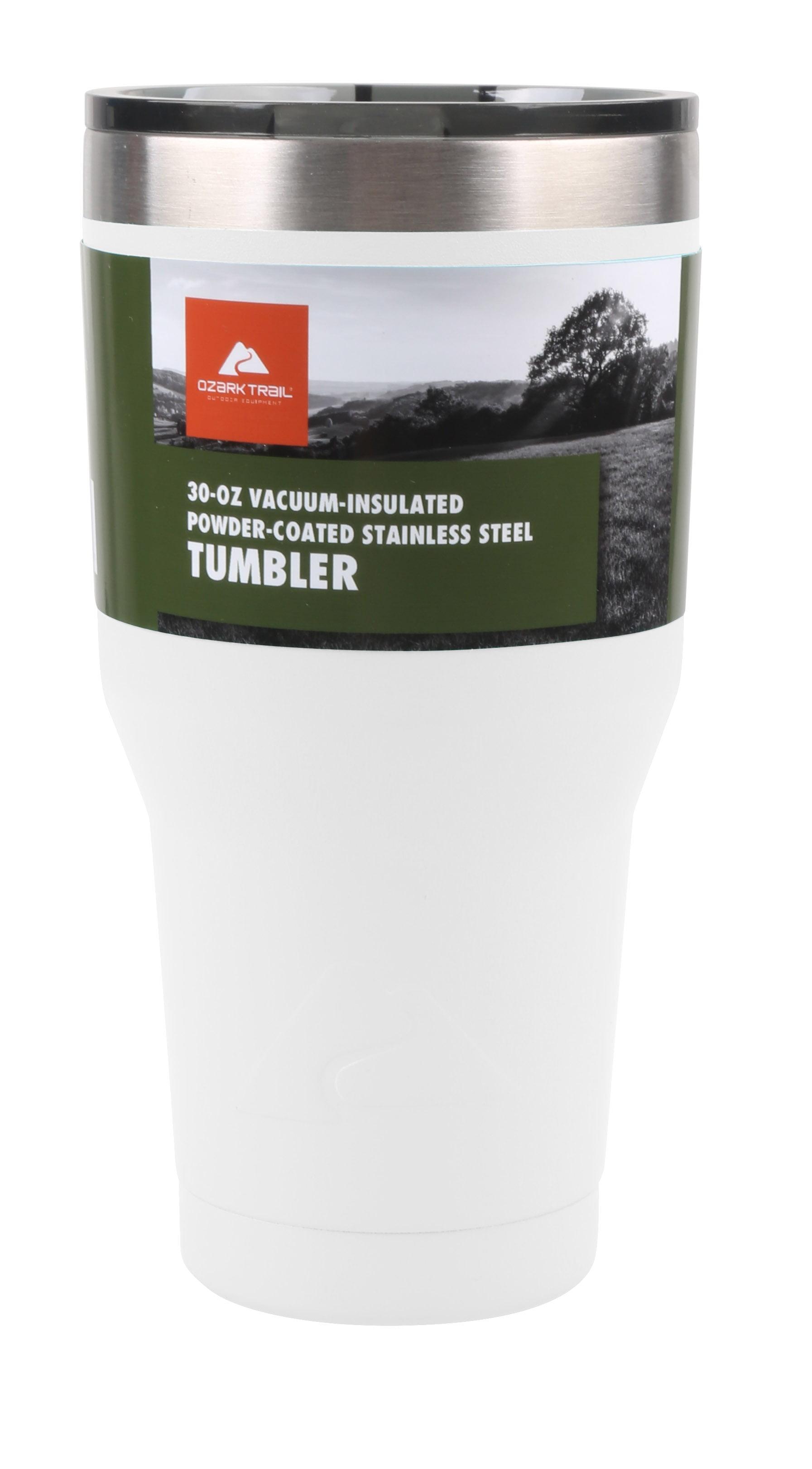 2b9104dd9a3 Ozark Trail 30-Ounce Double-Wall, Vacuum-Sealed Tumbler