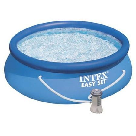 intex 8ft x 30in easy set pool set. Black Bedroom Furniture Sets. Home Design Ideas