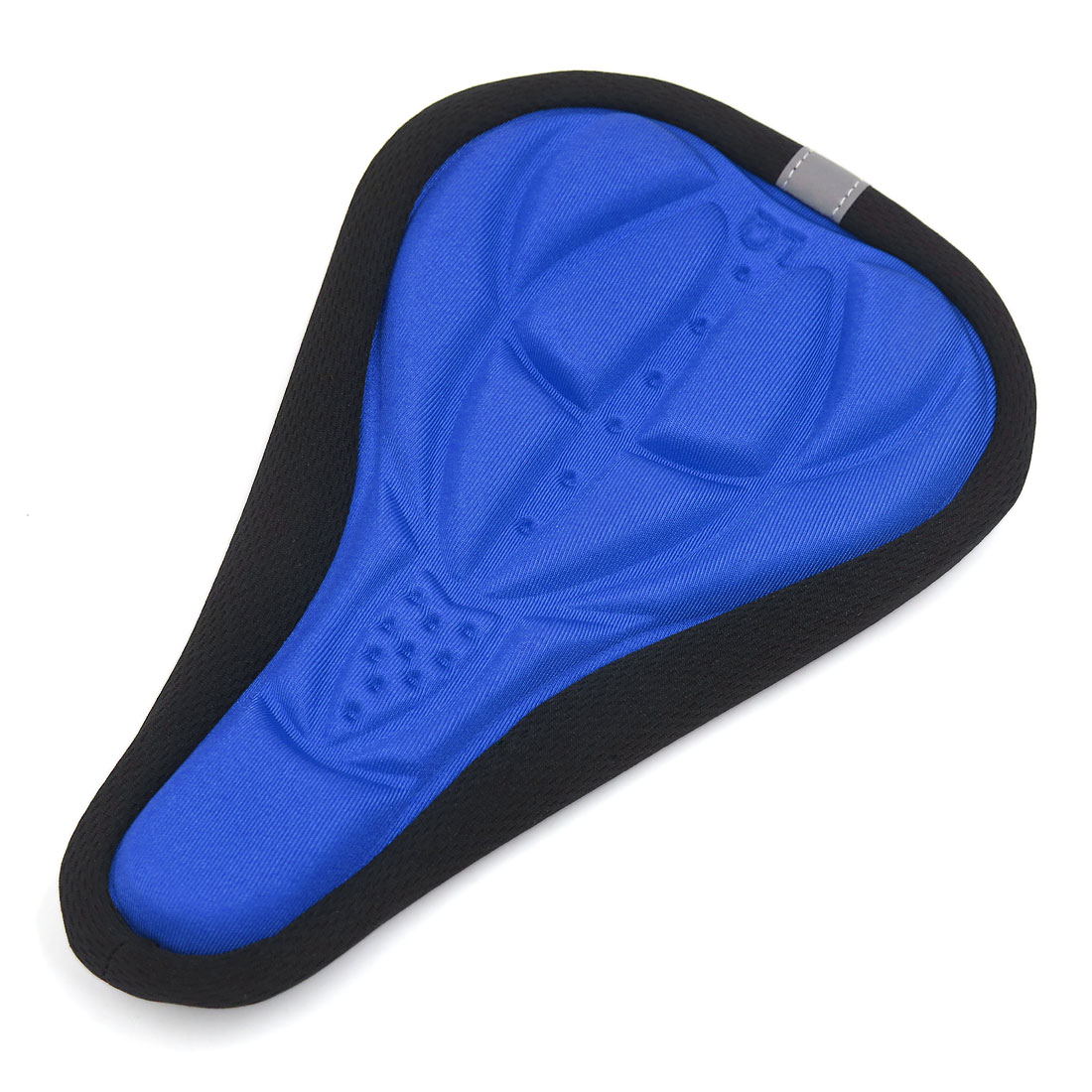 Father  s Day Gift l 3D Gel Silicone Cycling Bicycle Bike Saddle Cushion Seat Cover Soft Pad Blue