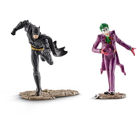 Schleich Batman vs. The Joker Scenery Pack