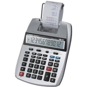 Canon P23-DHV Printing Calculator - Dual Color Print - 2.3 lps - Auto Power Off, Round Up, Decimal Point Selector Switch