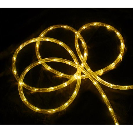 Northlight 18 ft yellow led indoor outdoor christmas rope lights aloadofball Choice Image