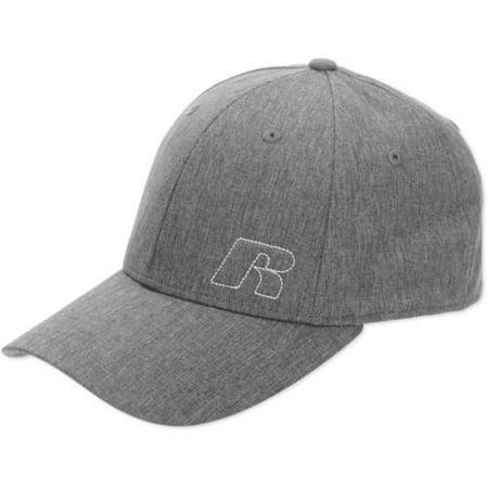 Grey Texture Flex Mens Hat