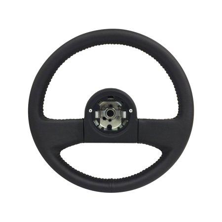 - Volante Steering Wheels; OE Series 1984-89 Corvette 14 in. Black Leather Steering Wheel | OE# 9768988