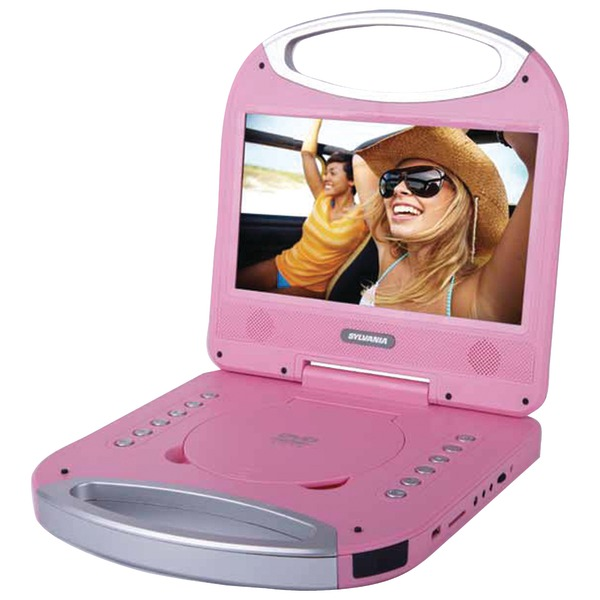 """Sylvania 10"""" Portable Dvd Player With Integrated Handle"""