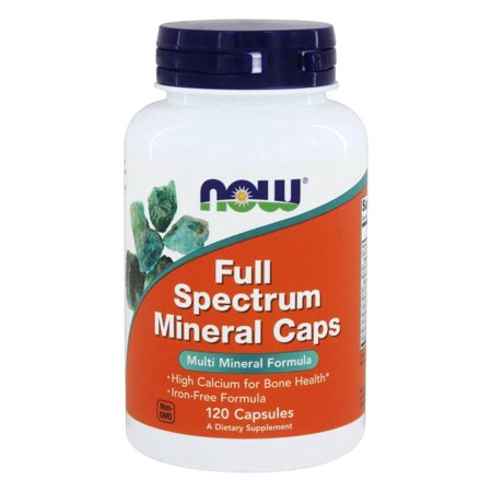 NOW Foods - Full Spectrum Minerals Multi-Mineral Formula - 120 Capsules