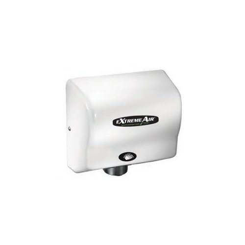 American Dryer EXT Series 540W Max Hand Dryer in White