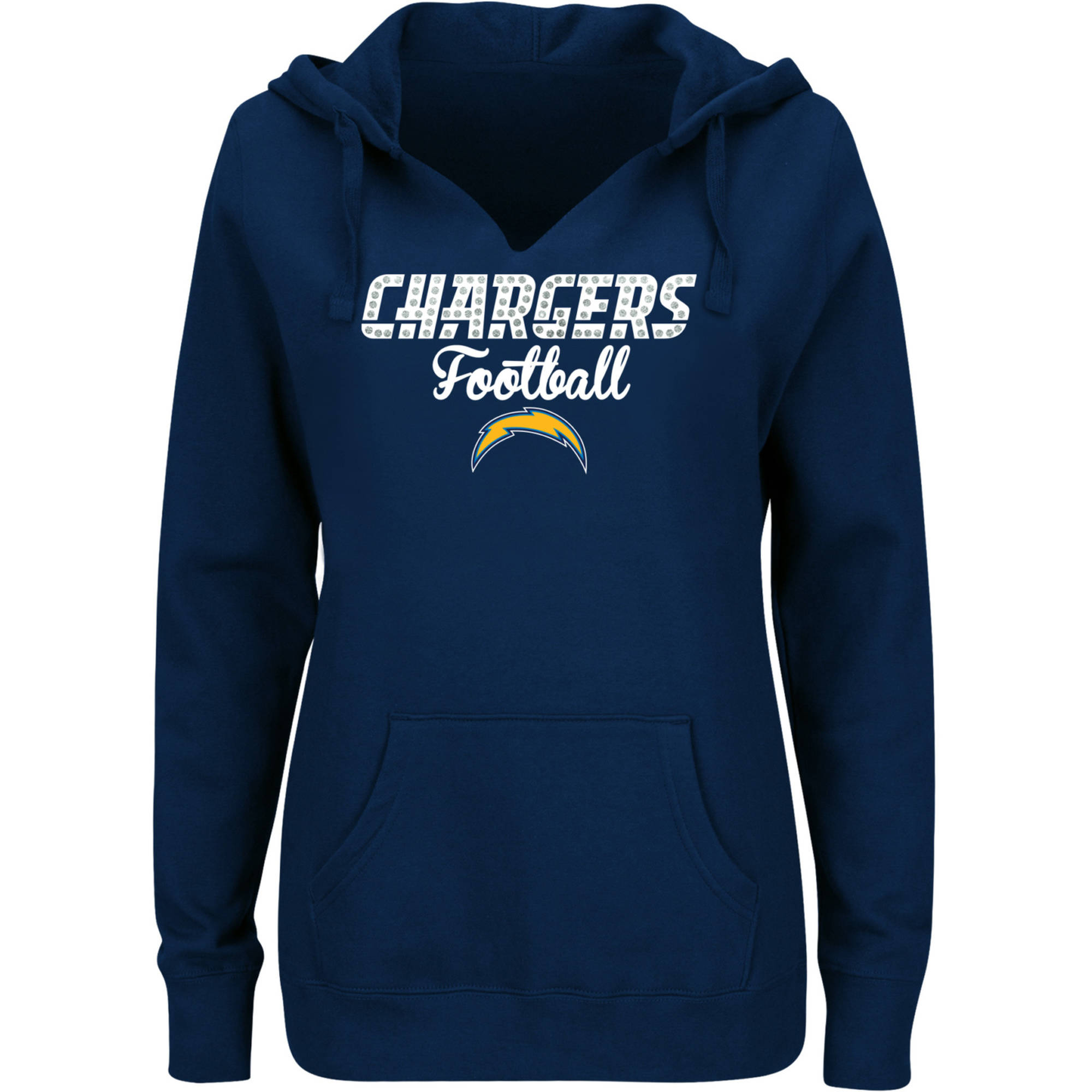 NFL San Diego Chargers Ladies Fleece Hoodie