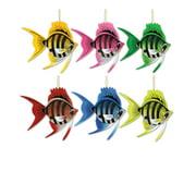Deep Sea Tropical Hawaiian Fish Dangler Hanger Party Decoration
