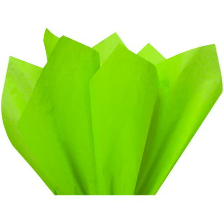 Lime Green Gift Wrap Tissue Paper 15in X 20in - 100 - Mint Green Tissue Paper