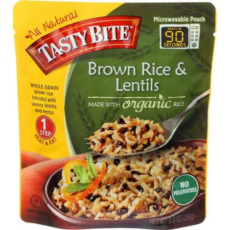 Tasty Bite Brown Rice & Lentils, 8.8 Oz (Pack Fo