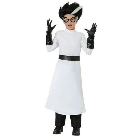 Child's Mad Scientist Costume - Steampunk Mad Scientist Costume