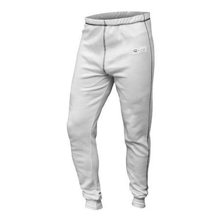 K1 RaceGear 26-PUP-W-4XS Premier Slim Fit Nomex Under Garments Pants, White - 4XS