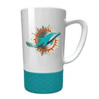 Miami Dolphins 15oz. Jump Mug with Silicone Grip