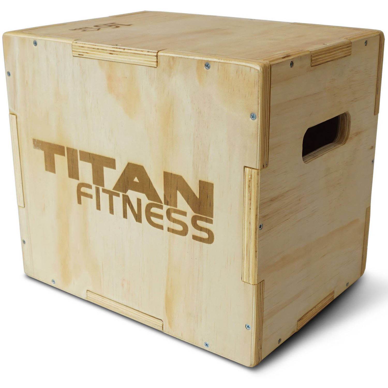 "Titan Fitness 12"" 14"" 16"" Wood Plyometric Box"