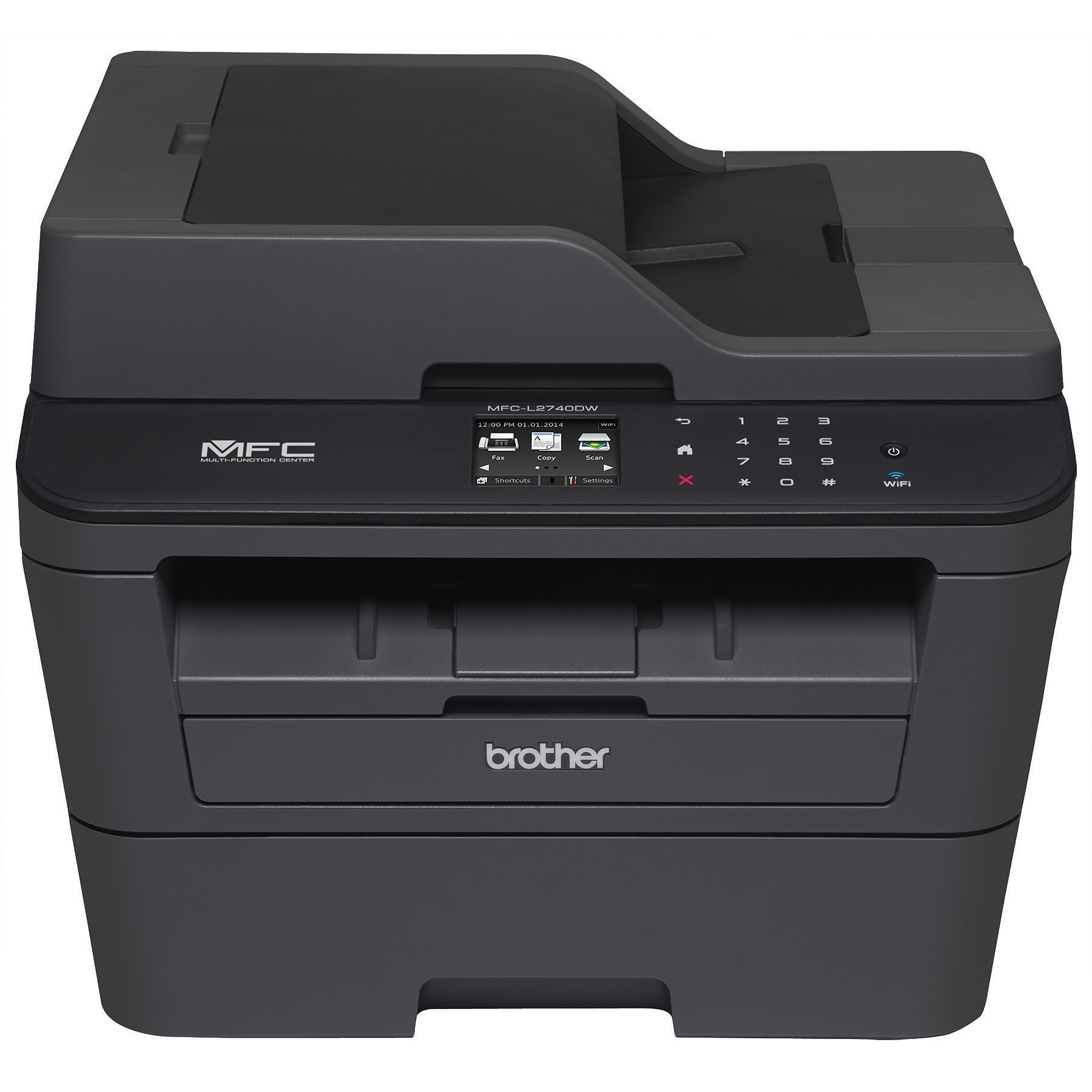 Brother MFC-L2740DW Compact Laser All-in-One Printer/Copier/Scanner/Fax Machine