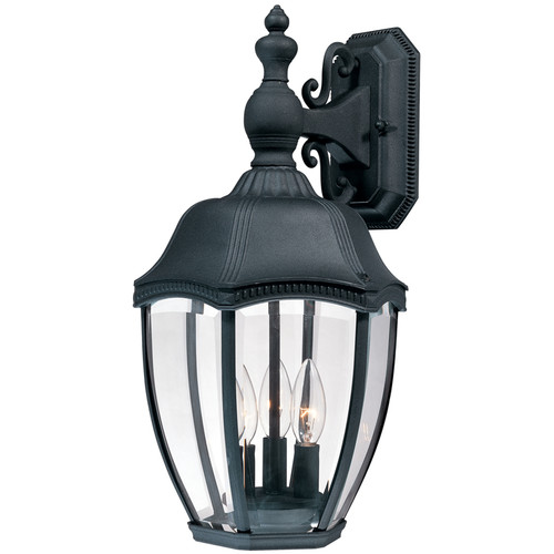 Dolan Designs 954 3 Light Outdoor Wall Sconce from the Roseville Collection