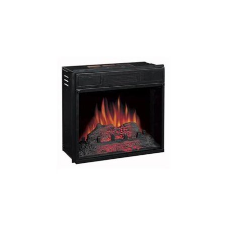 Classic Flame 18ef010gaa 18 Inch Electric Fireplace Insert With Realistic Flame Effect Black