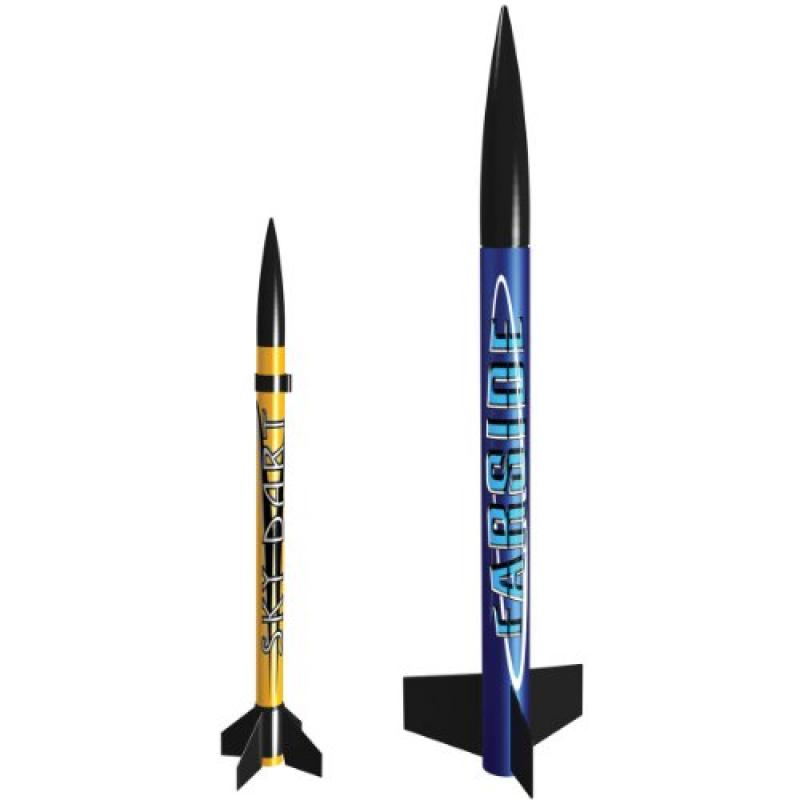 Estes 1475 Solar Scouts Flying Model Rocket Launch, Pack of 2 by