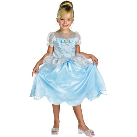 Disney Princess Cinderella Classic Child Halloween Costume](Li Shang Costume)