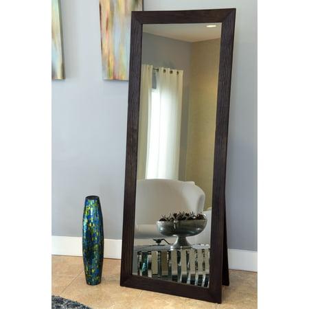 Naomi Home Freestanding Cheval Floor Mirror-Finish:Espresso ...