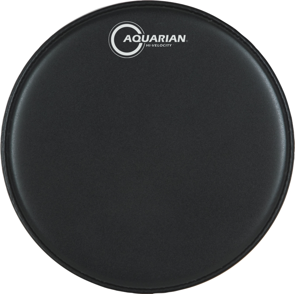 Aquarian Drumheads VEL13BK Hi-Velocity 13-inch Snare Drum Head, with Dot by Aquarian