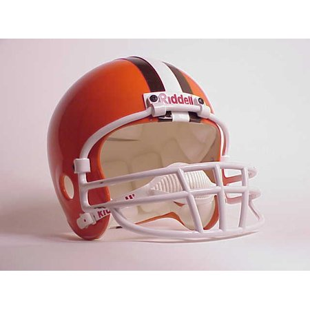 - NFL Full Size Deluxe Replica Helmet - Browns