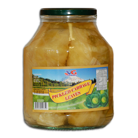 Pickled Cabbage Leaves (VG) 56oz
