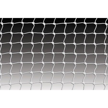 Kwik Goal Soccer Net 8Hx24Wx3Dx8.5B, 4mm mesh, White