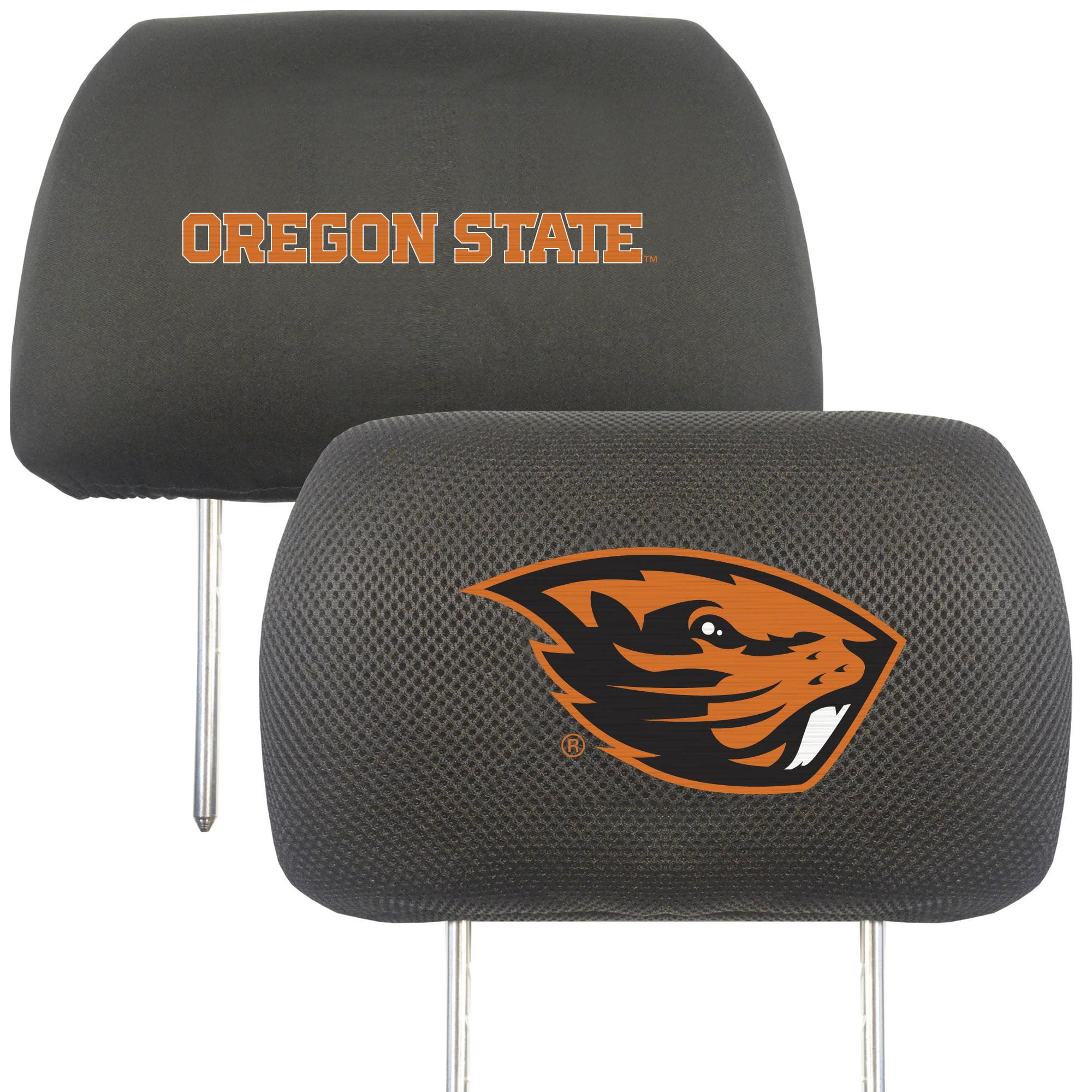 NCAA Oregon State University Beavers Head Rest Cover Automotive Accessory